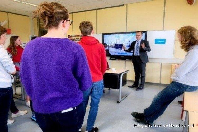 Commissaris van de Koning start scholenprogramma provincie