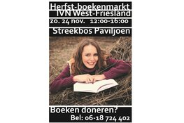Herfst-boekenmarkt bij IVN