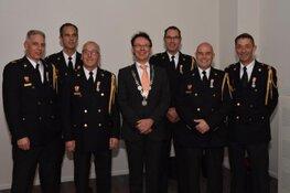 Uitreiking Koninklijke Onderscheidingen brandweer Stede Broec