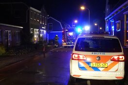 Brand in snackbar in Grootebroek