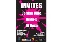 Invites feest voor jongeren tussen 12 en 17 jaar