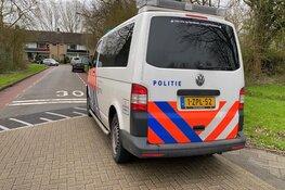 Aanhouding na overval Bovenkarspel, politiewagen in aanrijding