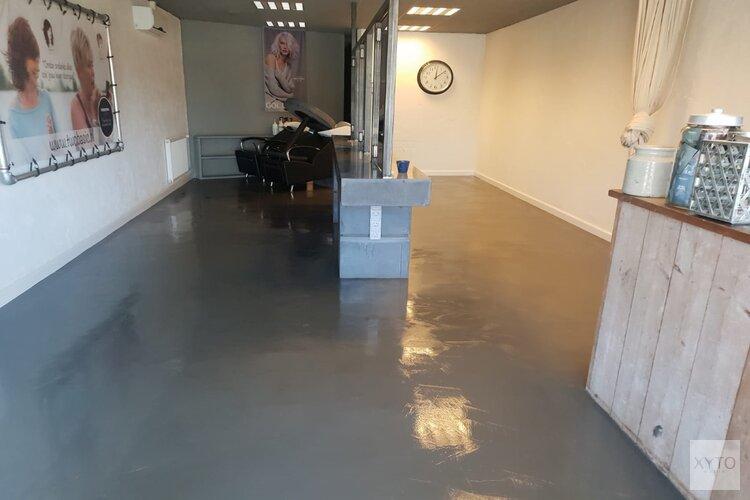 Betonvloer verven?