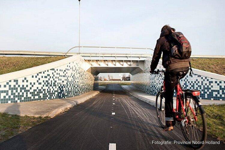Doorfietsen in Noord-Holland