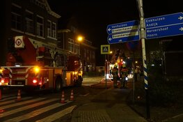 Brand legt overkapping in de as in Grootebroek