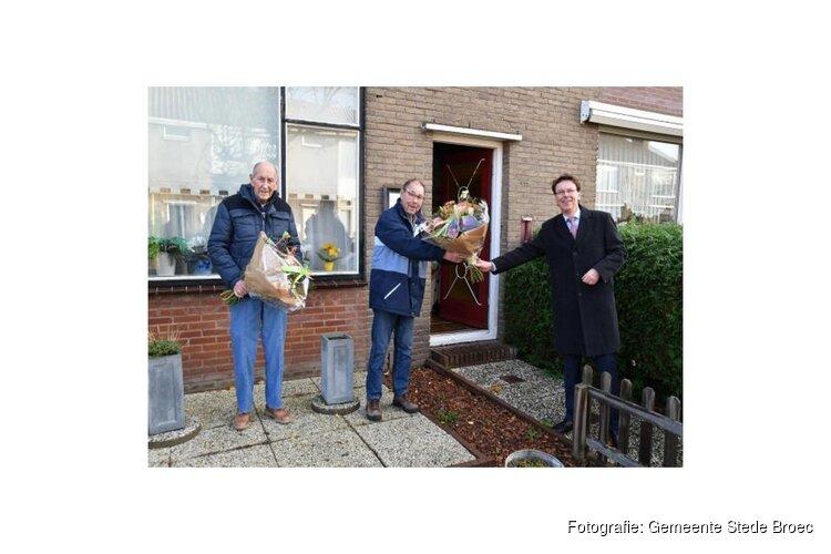 Afscheid bedieners sluis Broekerhaven
